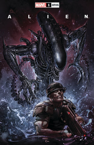 ALIEN #1 CLAYTON CRAIN EXCLUSIVE TRADE DRESS VARIANT