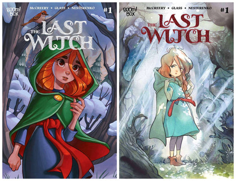 LAST WITCH #1 CHRISSIE ZULLO VARIANT LIMITED TO 500 & 1:25 PEACH MOMOKO