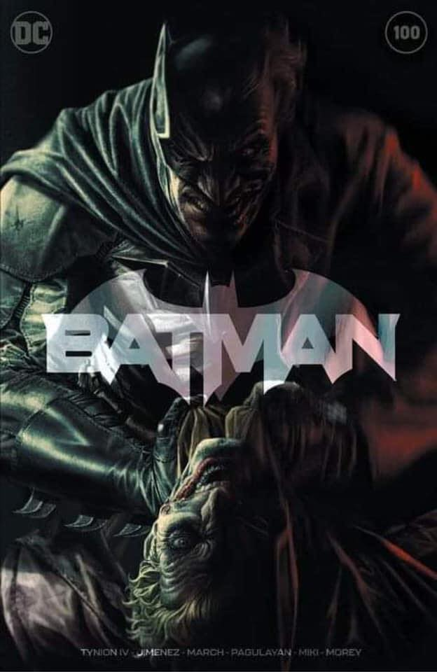 BATMAN #100 LEE BERMEJO EXCLUSIVE TEAM VARIANT