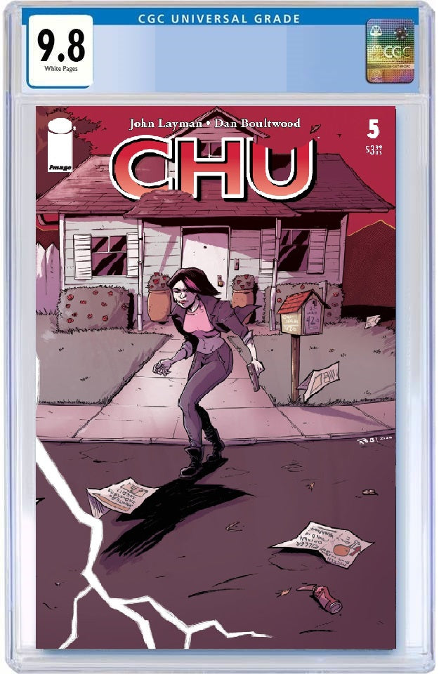 CHU #5 ROB GUILLORY WRAPAROUND VARIANT LIMITED TO 300 COPIES CGC 9.8 PREORDER