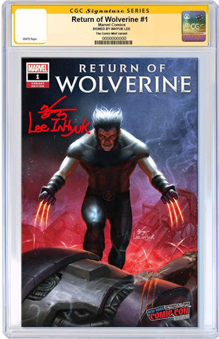 RETURN OF WOLVERINE #1 IN-HYUK LEE NYCC VARIANT LIMITED TO 1000 CGC SS PREORDER