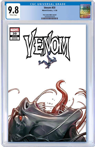 VENOM #30 WOO CHUL LEE 'VENOM #3 HOMAGE' VARIANT LIMITED TO 1500 COPIES WITH NUMBERED COA CGC 9.8 PREORDER