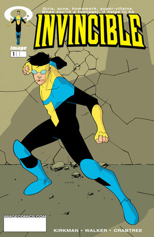25/11/2020 INVINCIBLE #1 GOLD FOIL LOGO LCSD 2020 VARIANT