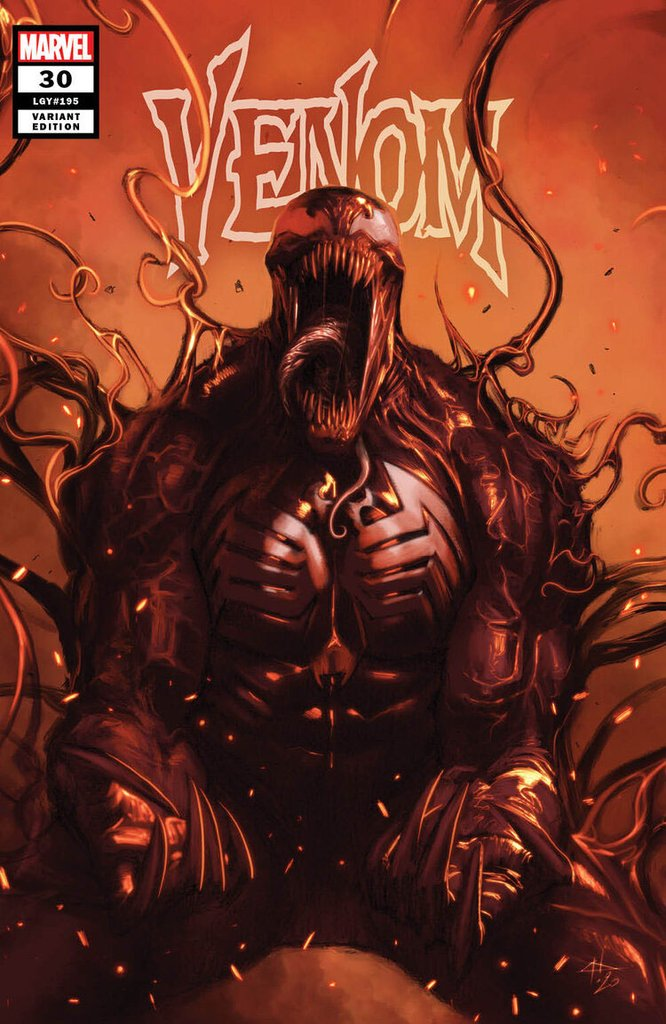 VENOM #30 GABRIELLE DELL'OTTO TRADE DRESS VARIANT LIMITED TO 1500 WITH COA