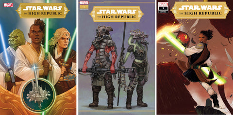 06/01/2021 STAR WARS HIGH REPUBLIC #1 COVER A/1:10/1:25 SET