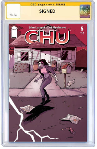 CHU #5 ROB GUILLORY WRAPAROUND VARIANT LIMITED TO 300 COPIES CGC SS PREORDER