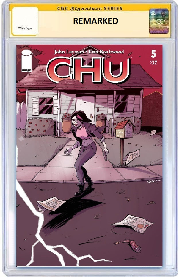 CHU #5 ROB GUILLORY WRAPAROUND VARIANT LIMITED TO 300 COPIES CGC REMARK PREORDER