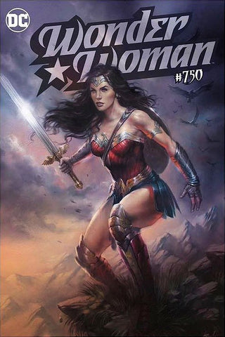 WONDER WOMAN #750 LUCIO PARRILLO EXCLUSIVE TRADE DRESS VARIANT LIMITED TO 2500