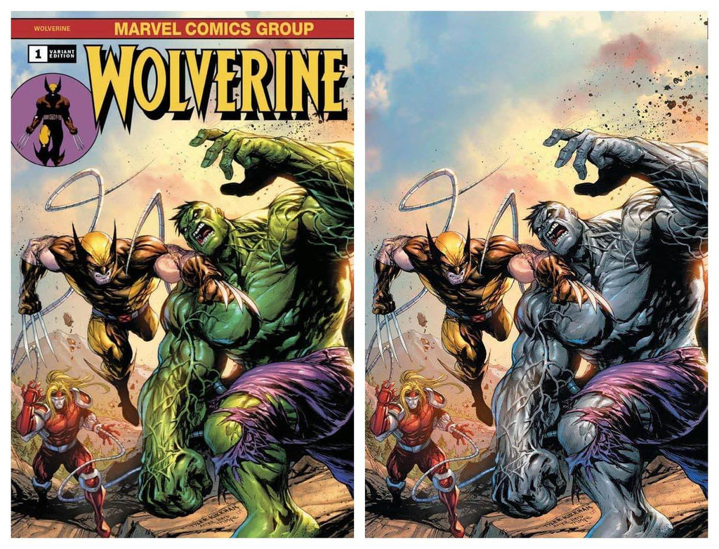 WOLVERINE #1 TYLER KIRKHAM HULK 181 HOMAGE COVER OPTIONS