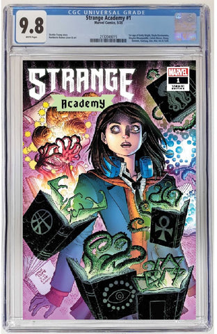 STRANGE ACADEMY #1 CHARACTER SPOTLIGHT VARIANT CGC 9.8 PREORDER