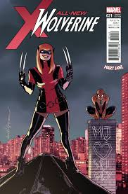 ALL NEW WOLVERINE #21 MARY JANE VARIANT