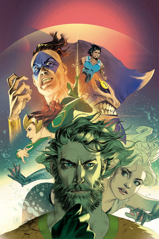 AQUAMAN #29 JOSH MIDDLETON VAR ED