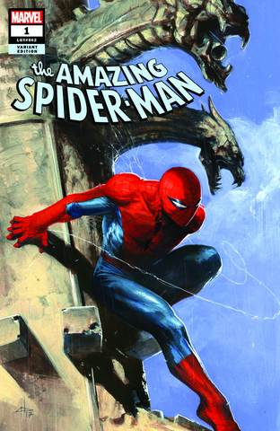 AMAZING SPIDER-MAN #1 DELL'OTTO TRADE DRESS VARIANT LIMITED TO 3000