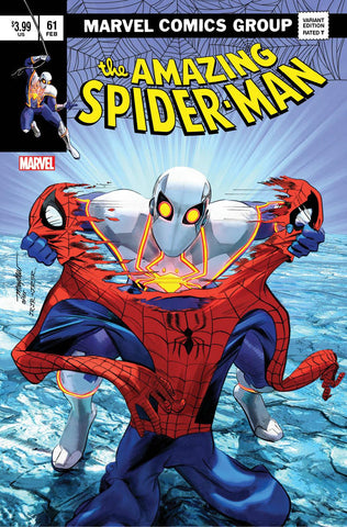 AMAZING SPIDER-MAN #61 MIKE MAYHEW ASM 238 HOMAGE VARIANT LIMITED TO 800 WITH NUMBERED COA