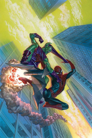 AMAZING SPIDER-MAN #798 LEG 1:100 ALEX ROSS VIRGIN