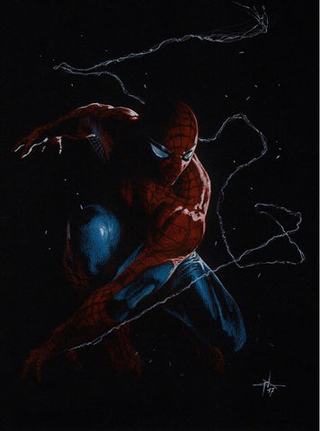 AMAZING SPIDER-MAN #1 GABRIELE DELL'OTTO VARIANT TRADE/VIRGIN SET