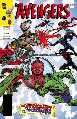 AVENGERS #672 LENTICULAR LEGACY HOMAGE BY MICHAEL ALLRED