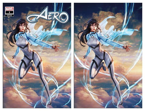 AERO #1 WOO CHUL LEE TRADE DRESS/VIRGIN VARIANT SET LIMITED TO 600 SETS