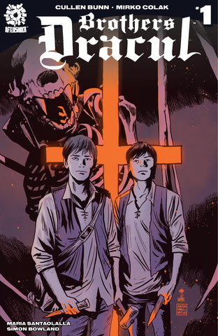 BROTHERS DRACUL #1 FRANCESCO FRANCAVILLA LEMON HEADS VARIANT TRADE DRESS VARIANT LIMITED TO 200 COPIES