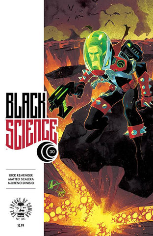 BLACK SCIENCE #30 SPAWN VARIANT MONTH