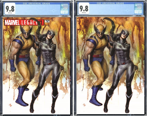 MARVEL LEGACY #1 EXCLUSIVE ADI GRANOV VIRGIN VARIANT SET LIMITED TO 1800/600 CGC GUARANTEED 9.8 PREORDER
