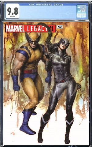 MARVEL LEGACY #1 EXCLUSIVE ADI GRANOV TRADE DRESS VARIANT LIMITED TO 1800 CGC GUARANTEED 9.8 PREORDER