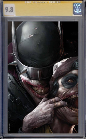 DARK NIGHTS METAL #3 FRANCESCO MATTINA VIRGIN VARIANT LIMITED TO 600 GUARANTEED CGC SS 9.8 PREORDER