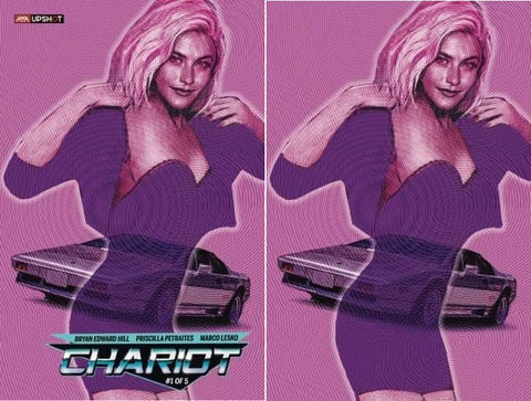 CHARIOT #1 JOHN GALLAGHER TRADE/VIRGIN VARIANT SET LIMITED TO 350 SETS