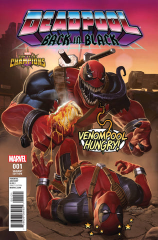 DEADPOOL: BACK IN BLACK #1 1:10 CONTEST OF CHAMPIONS VARIANT