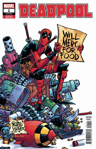 DEADPOOL #1 1:25 SKOTTIE YOUNG VARIANT