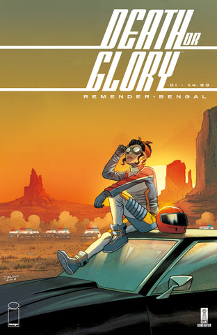 DEATH OR GLORY #1 (RICK REMENDER) DECLAN SHALVEY VARIANT LIMITED TO 500 COPIES