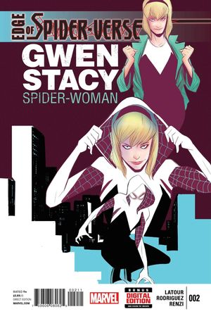 EDGE OF SPIDER-VERSE #2 1ST APPEARANCE OF SPIDER GWEN 1ST PRINT