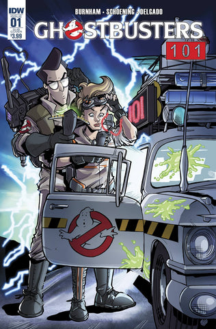 GHOSTBUSTERS 101 #1 ERICA HENDERSON SUBSCRIPTION VARIANT B - Sad Lemon Comics