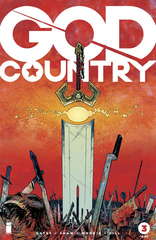 GOD COUNTRY #3 COVER A GEOFF SHAW & JASON WORDIE - Sad Lemon Comics