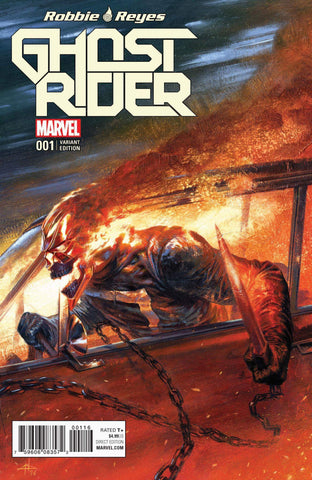 NOW GHOST RIDER #1 GABRIELE DELL'OTTO VARIANT COLOR & BW - Sad Lemon Comics