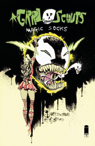 17/05/2017 GRRL SCOUTS MAGIC SOCKS #1 SPAWN VARIANT MONTH