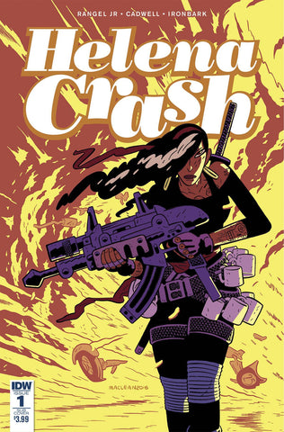 HELENA CRASH #1 (OF 5) ANDREW MACLEAN SUBSCRIPTION VARIANT - Sad Lemon Comics