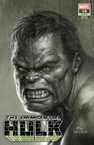 IMMORTAL HULK #16 IN HYUK LEE AUTHENTIC SKETCH VARIANT LIMITED TO 500 COPIES