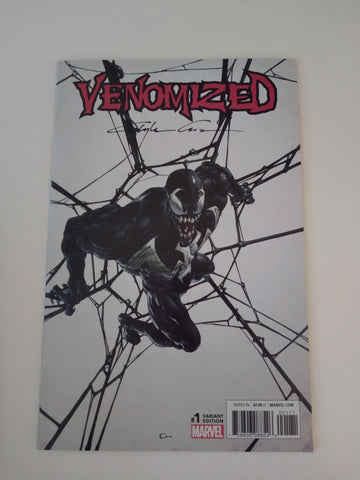 VENOMIZED #1 VARIANT SIGNED BY CLAYTON CRAIN VF/NM