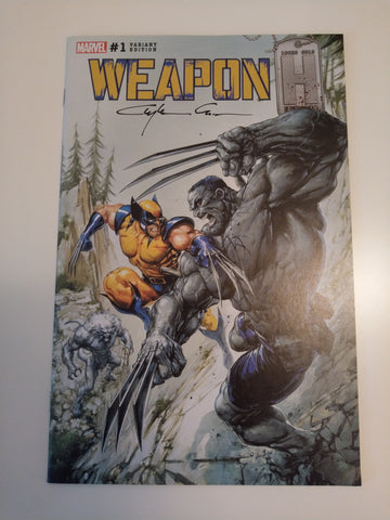 WEAPON H #1 CLAYTON CRAIN HULK 181 MODERN TRADE DRESS VARIANT SIGNED BY CLAYTON CRAIN VF