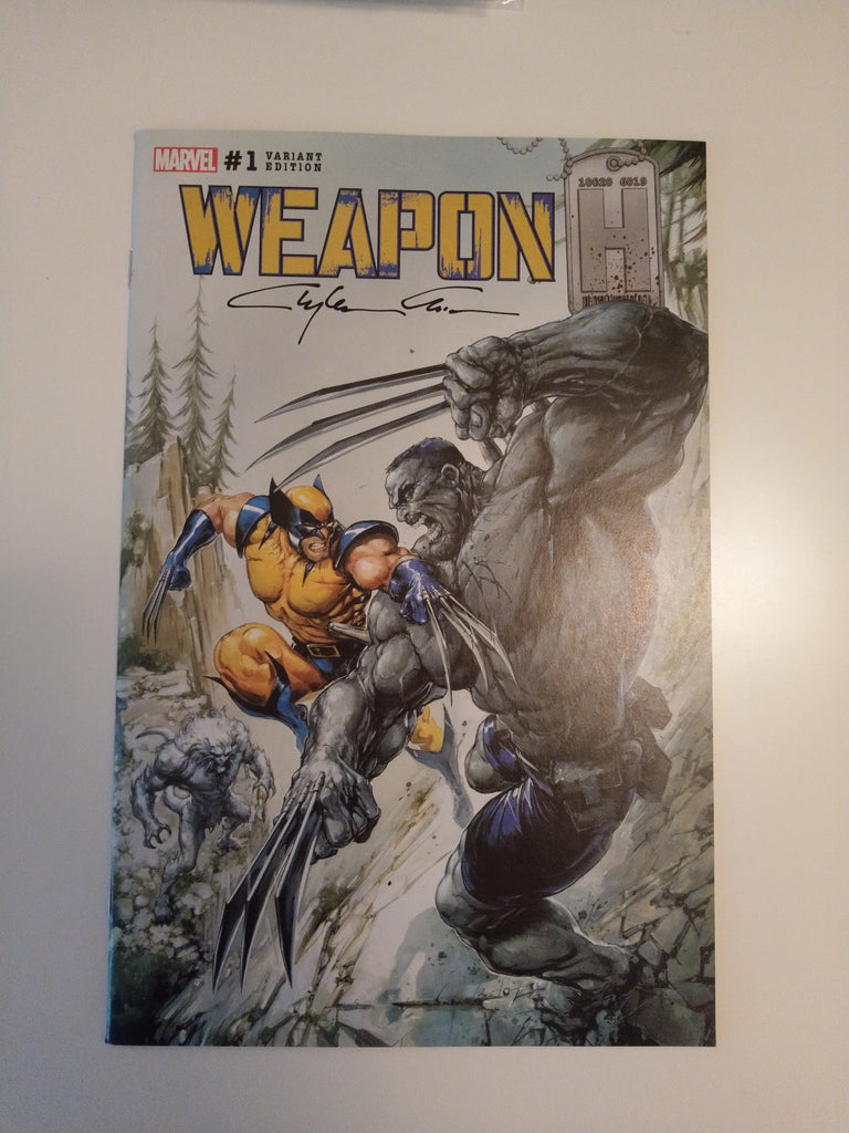 WEAPON H #1 CLAYTON CRAIN HULK 181 MODERN TRADE DRESS VARIANT SIGNED BY CLAYTON CRAIN