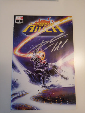 COSMIC GHOST RIDER #1 CLAYTON CRAIN TRADE DRESS VARIANT LIMITED TO 3000 SIGNED BY DONNY CATES