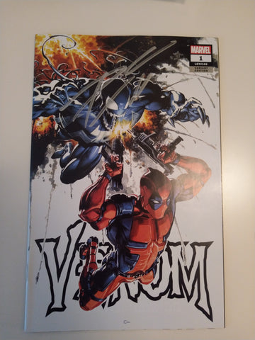 VENOM #1 CLAYTON CRAIN TRADE DRESS VARIANT LIMITED TO 3000 COPIES SIGNED BY DONNY CATES