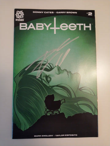 BABYTEETH #2 ELIZABETH TORQUE ROSEMARY'S BABY HOMAGE TRADE DRESS VARIANT SIGNED BY DONNY CATES