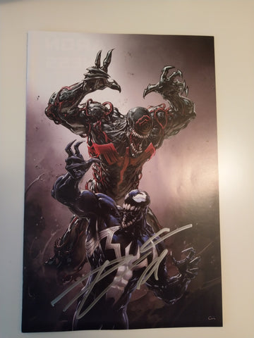 VENOM #2 CLAYTON CRAIN HEROES CON VARIANT LIMITED TO 1000 SIGNED BY DONNY CATES