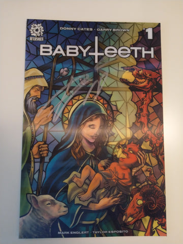 BABYTEETH #1 MIKE ROOTH LENTICULAR VARIANT SIGNED BY DONNY CATES
