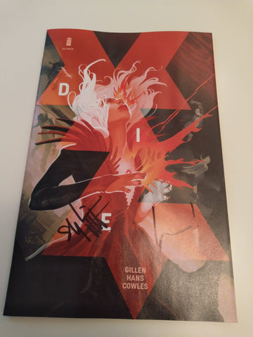 DIE #1 CVR A HANS SIGNED BY KIERON GILLEN AND STEPHANIE HANS