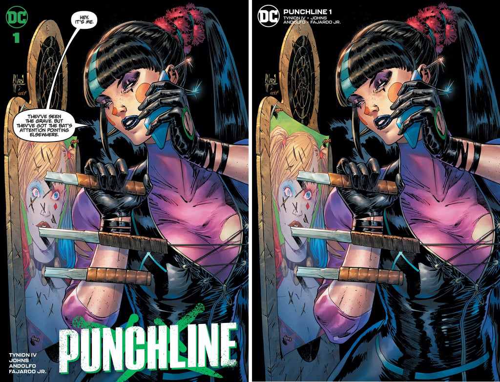 PUNCHLINE SPECIAL #1 GUILLEM MARCH TRADE/MINIMAL TRADE VARIANT SET LIMITED TO 600 SETS WITH NUMBERED COA