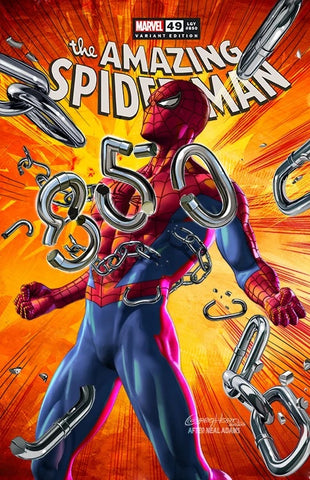 AMAZING SPIDER-MAN #850 GREG HORN HOMAGE TRADE DRESS VARIANT LIMITED TO 3000