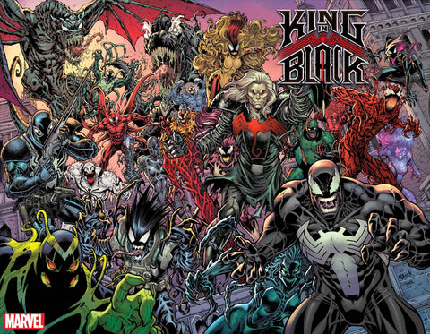 KING IN BLACK #1 (OF 5) 1:200 NAUCK EVERY SYMBIOTE EVER WRAPAROUND VARIANT